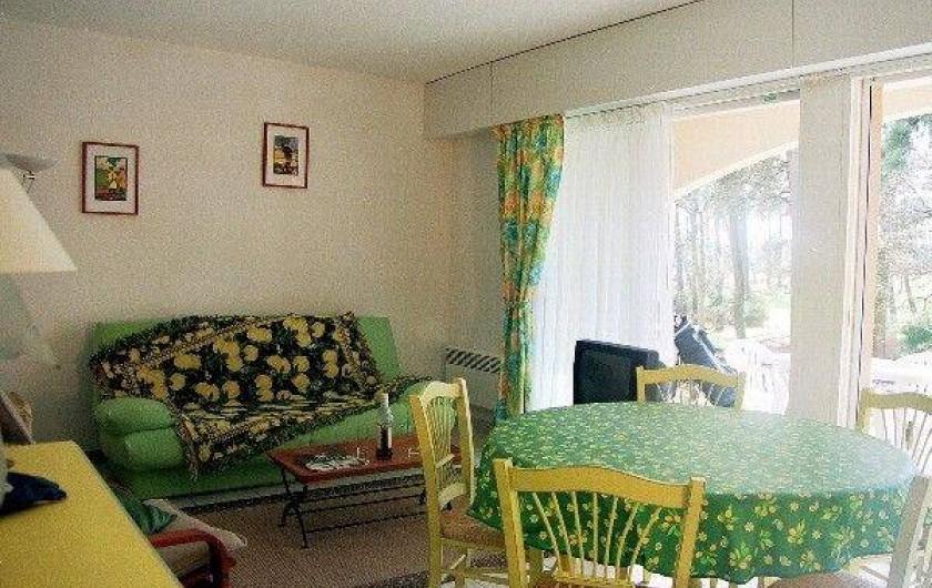 Location de vacances - Appartement à Moliets-et-Maa - Côté salon