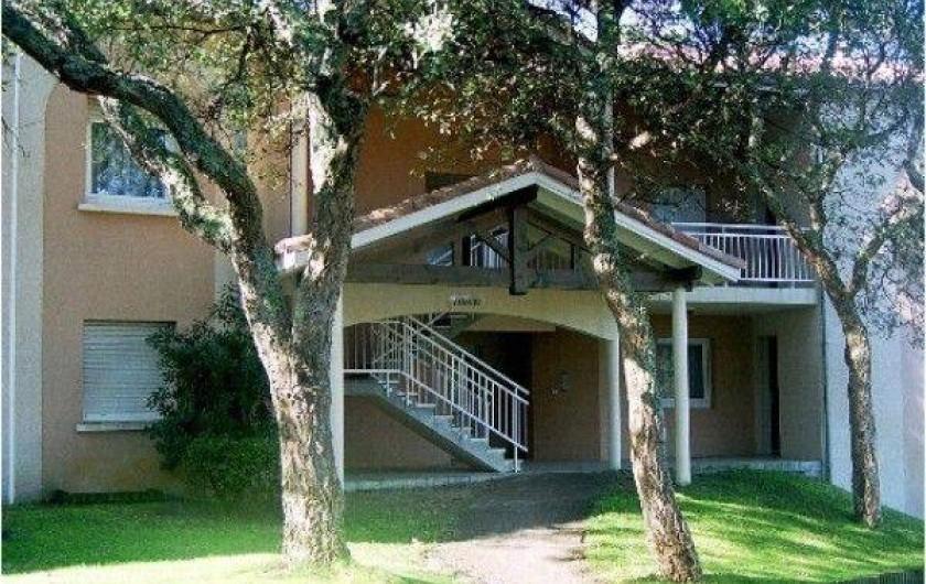 Location de vacances - Appartement à Moliets-et-Maa - Entrée
