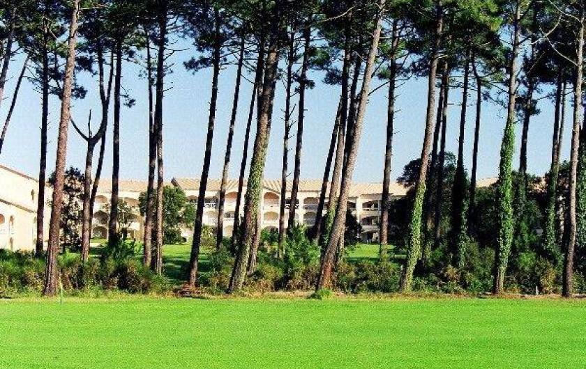 Location de vacances - Appartement à Moliets-et-Maa - Depuis le trou N° 17 du golf