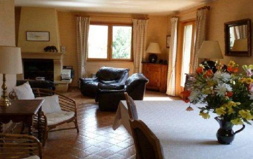 Location de vacances - Chalet à Briançon - salle à manger
