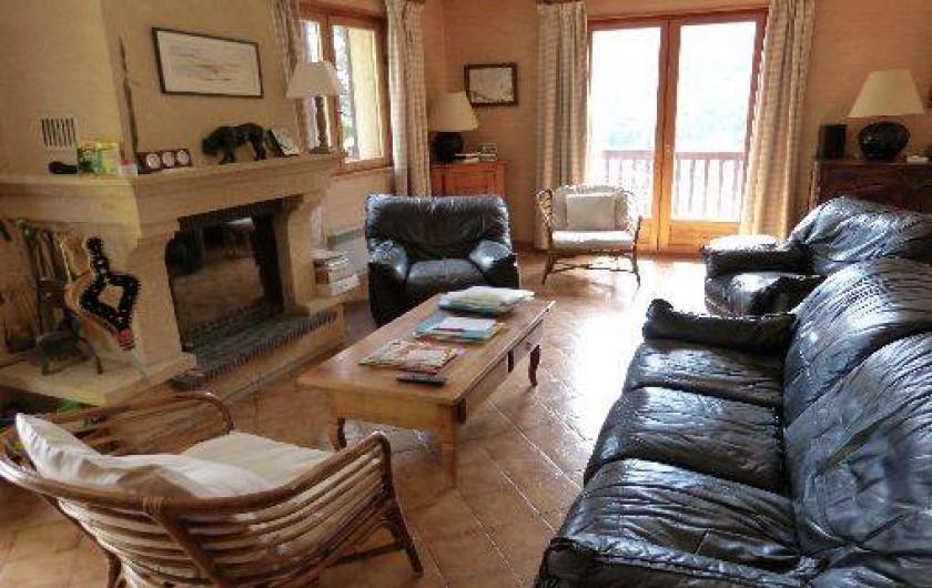 Location de vacances - Chalet à Briançon - salon