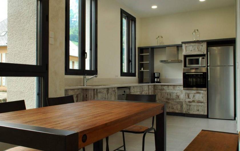 Location de vacances - Gîte à Saint-Pierre-d'Entremont - La Cuisine de L'Atelier
