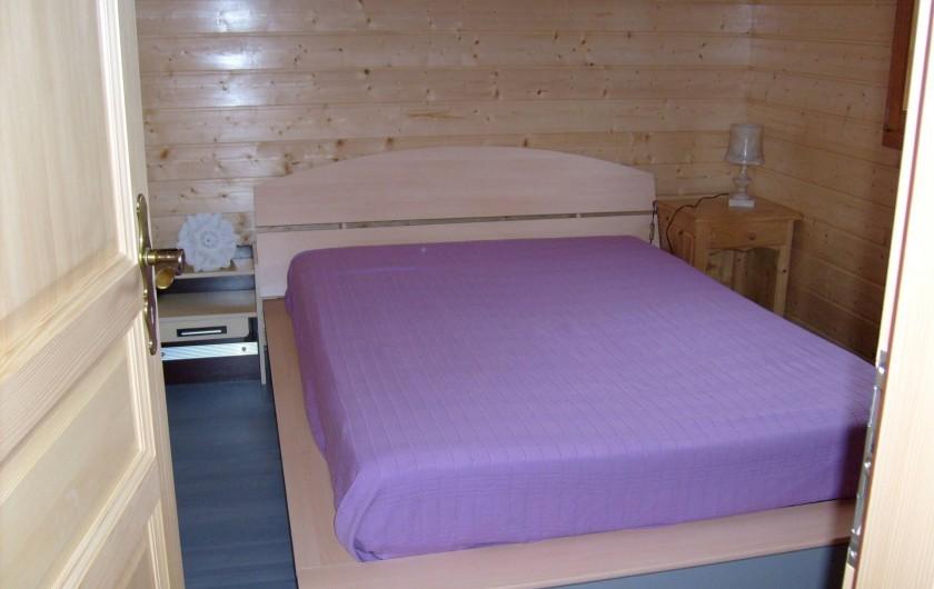 Location de vacances - Chalet à Saint-Maurice-sur-Moselle - Chambre du Rez de Chaussé