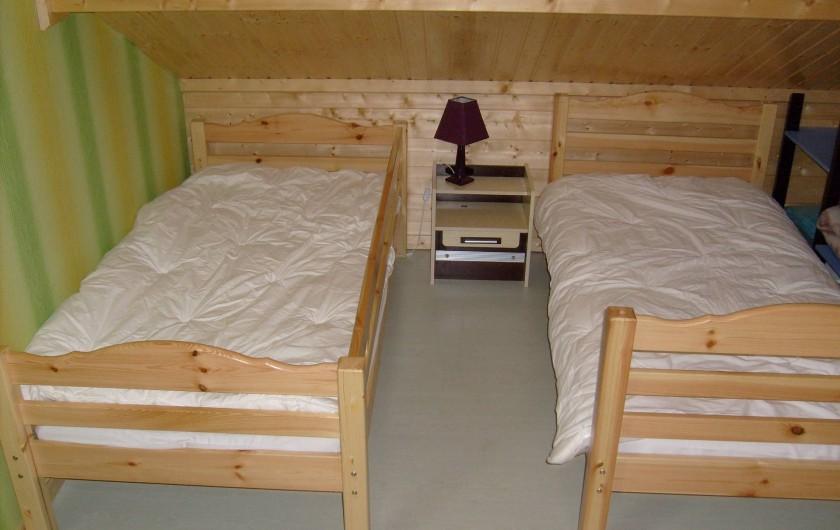 Location de vacances - Chalet à Saint-Maurice-sur-Moselle - Chambre à l Etage