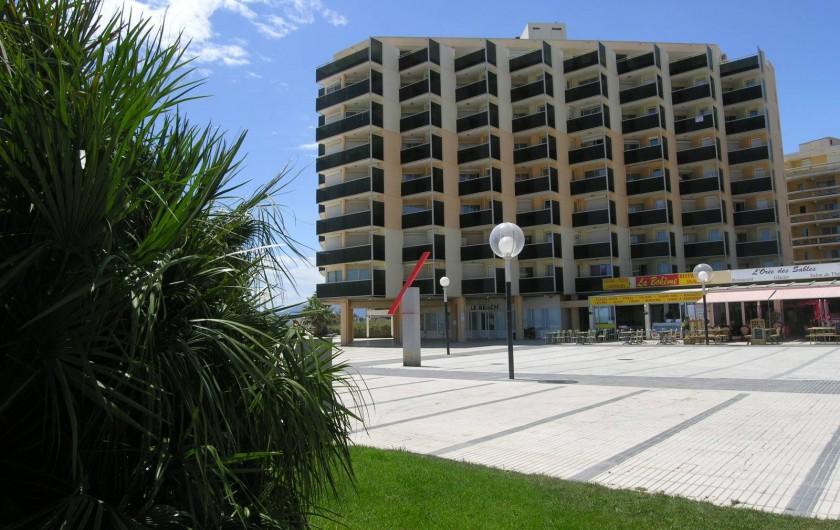 Location de vacances - Appartement à Canet-en-Roussillon