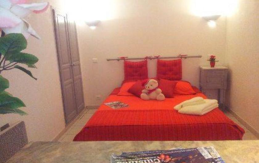 Location de vacances - Appartement à Le Teil - Chambre
