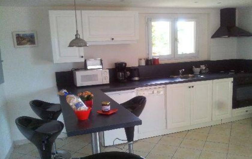 Location de vacances - Appartement à Le Teil - Cuisine ouverte