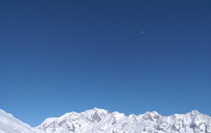 Location de vacances - Chalet à Les Contamines-Montjoie - Le mont blanc