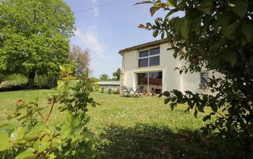 Location de vacances - Gîte à Fourcès - VUE COTE OUEST