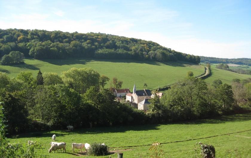 Location de vacances - Château - Manoir à Bussy-la-Pesle - Dans un écrin de verdure