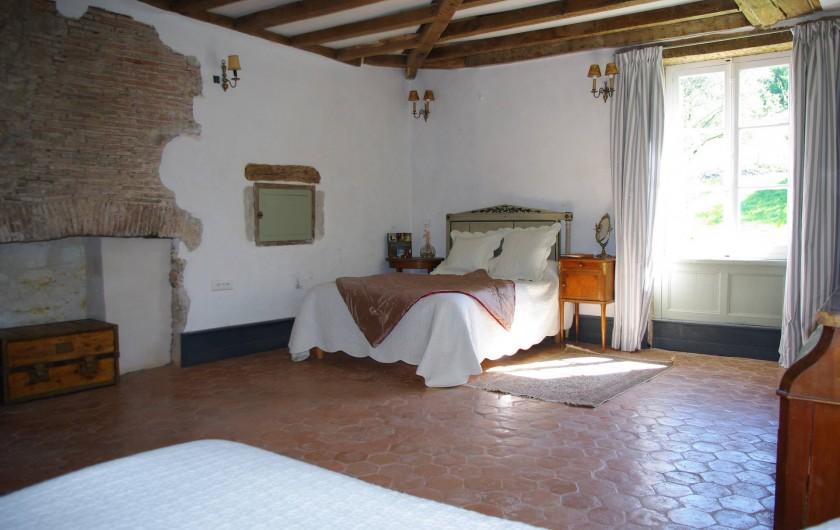 Location de vacances - Château - Manoir à Bussy-la-Pesle - Chambre Tanneguy