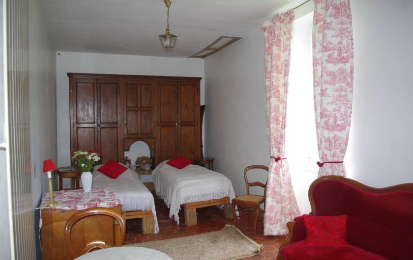 Location de vacances - Château - Manoir à Bussy-la-Pesle - Chambre Gustave Eiffel