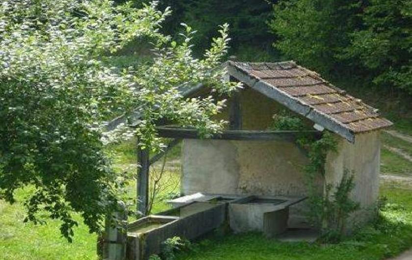 Location de vacances - Chalet à Fougax-et-Barrineuf