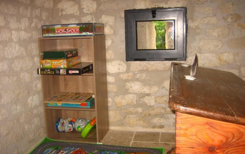 Location de vacances - Mas à Labastide-Marnhac - Salle de jeux enfants