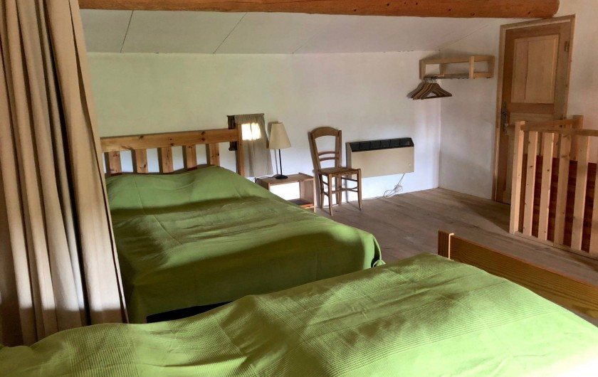 Location de vacances - Mas à Sécheras - Grande chambre n°2 séparable en 2 parties