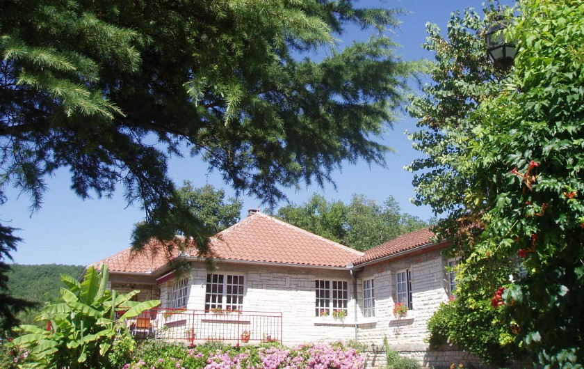 Location de vacances - Chambre d'hôtes à Saint-Sozy - Notre maison d'hôtes