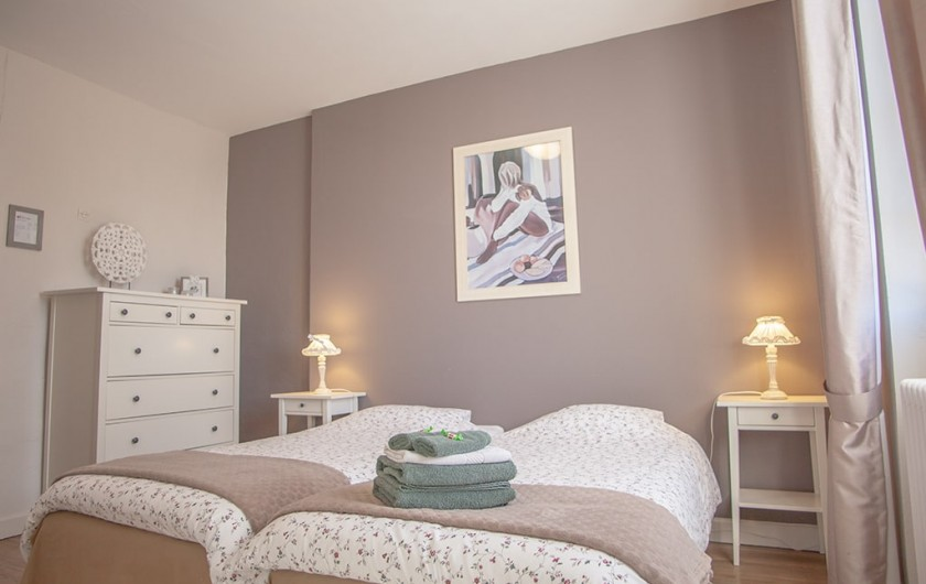 Location de vacances - Chambre d'hôtes à Saint-Sozy - Chambre de Mathieu