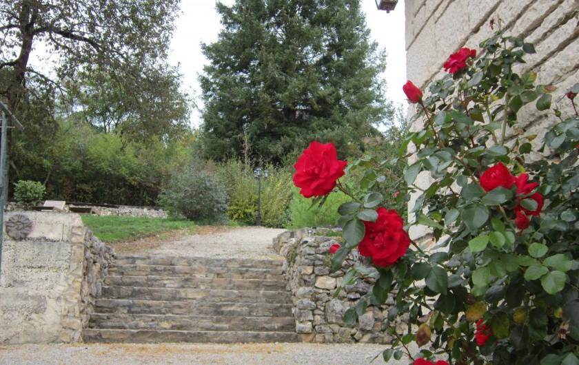 Location de vacances - Chambre d'hôtes à Saint-Sozy - Le jardin
