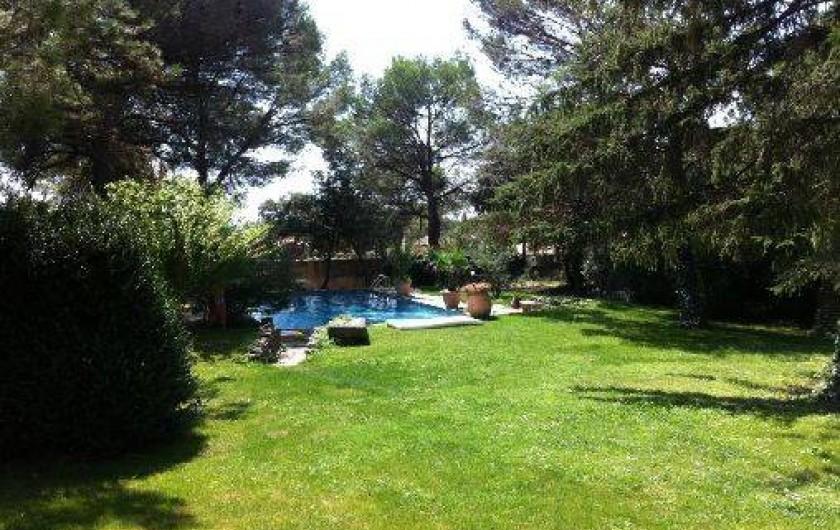Location de vacances - Gîte à Uchaux