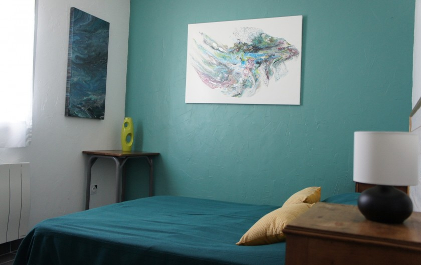 Location de vacances - Gîte à Noizay - CHAMBRE 3 REZ-DE-CHAUSSEE