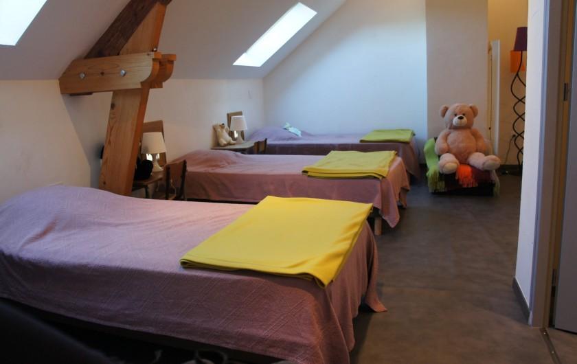 Location de vacances - Gîte à Noizay - CHAMBRE 6 ETAGE