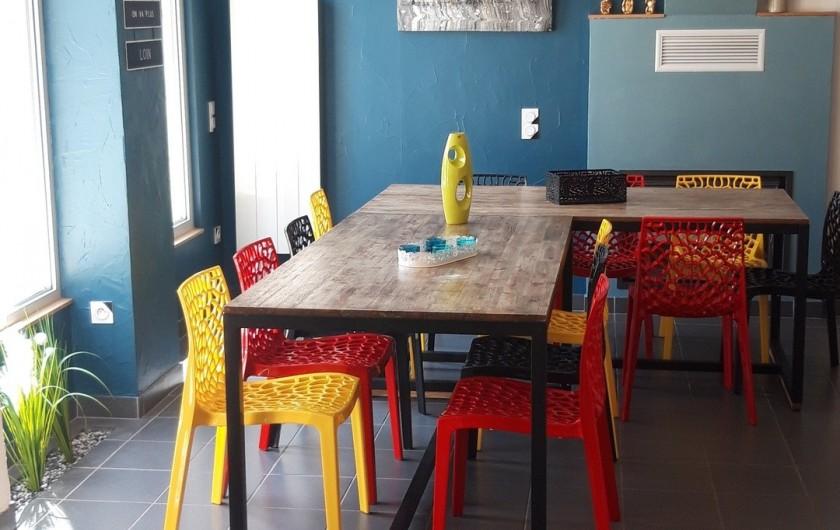 Location de vacances - Gîte à Noizay - SALLE A MANGER