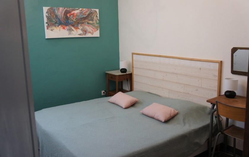 Location de vacances - Gîte à Noizay - CHAMBRE 2 REZ-DE-CHAUSSEE