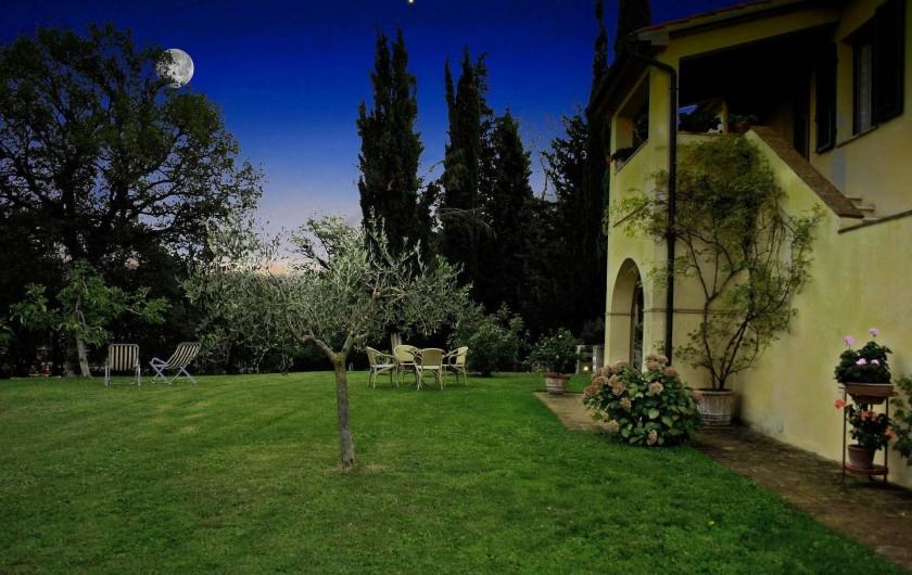 Location de vacances - Gîte à Campiglia D'orcia - notte di luna