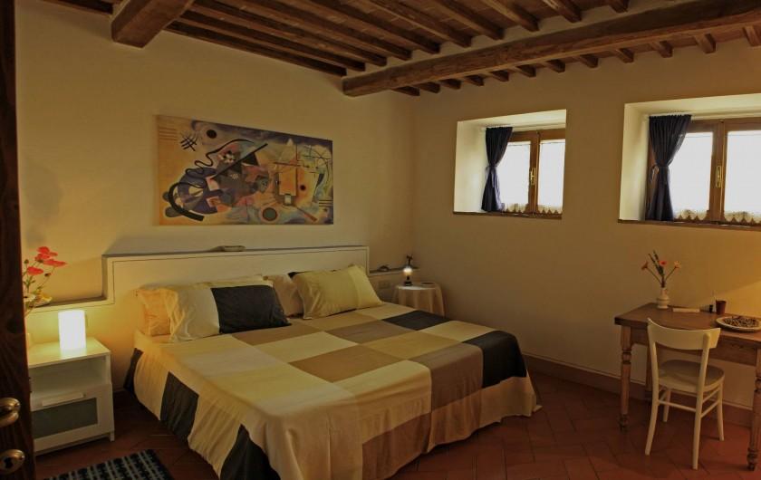 Location de vacances - Gîte à Campiglia D'orcia - camera Casa Claudia