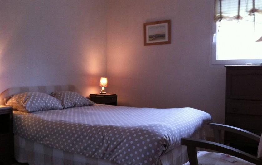 Location de vacances - Villa à Piriac-sur-Mer - chambre double rez de chaussée