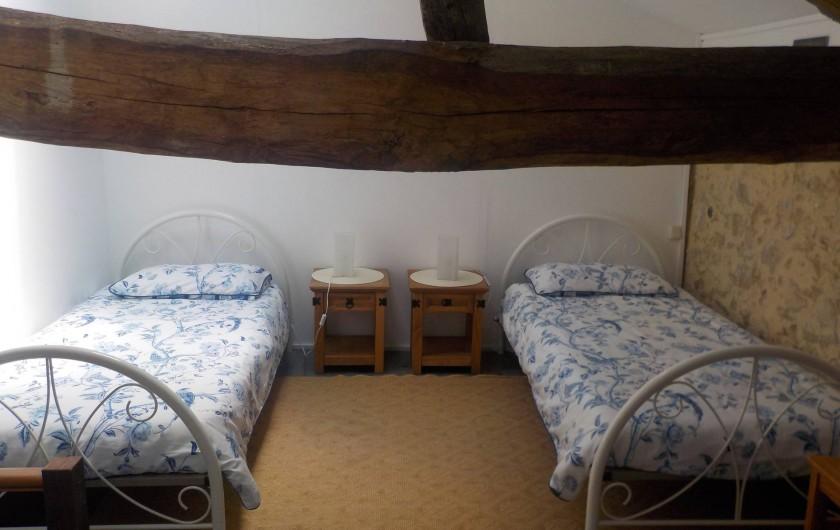 Location de vacances - Gîte à Justian - Chambre pour 2 personnes au 1er étage de notre gîte D'Artagnan.