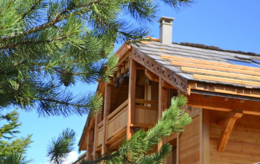 Location de vacances - Chambre d'hôtes à La Salle-les-Alpes - Le chalet