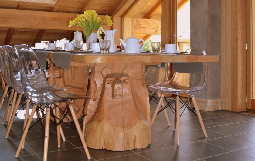 Location de vacances - Chambre d'hôtes à La Salle-les-Alpes - Petits déjeuners compris dans le tarif