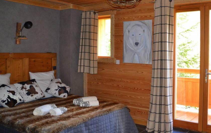 Location de vacances - Chambre d'hôtes à La Salle-les-Alpes - Chambre Ne 3