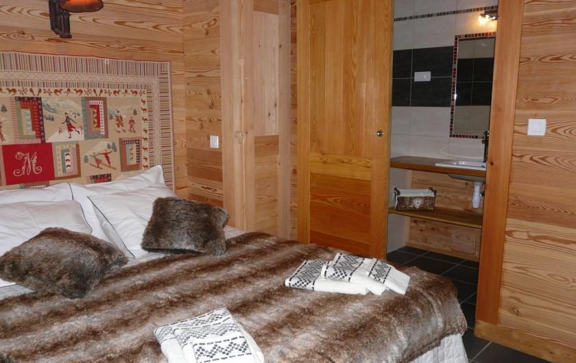 Location de vacances - Chambre d'hôtes à La Salle-les-Alpes - Chambre Ne 5