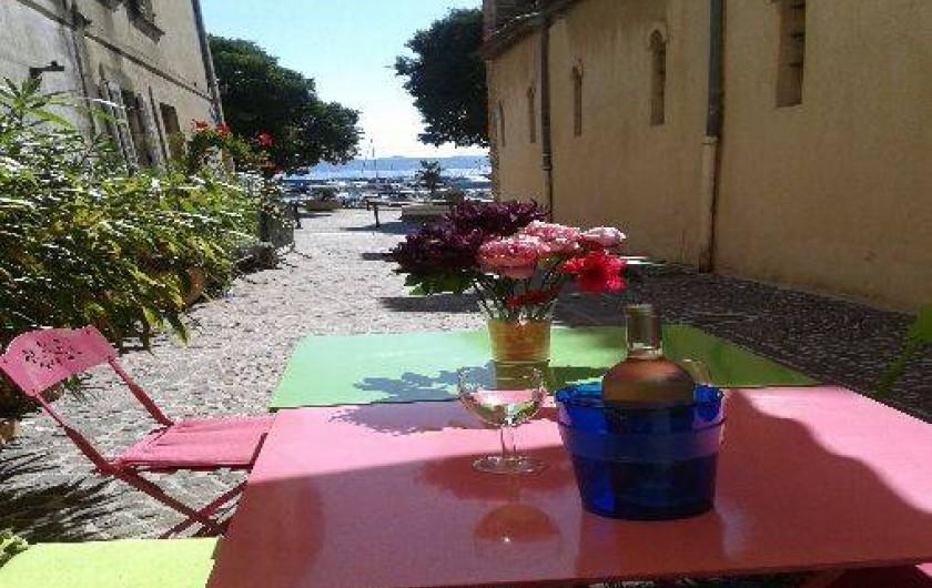 Location de vacances - Maison - Villa à Sainte-Maxime - DEVANT LA MAISON