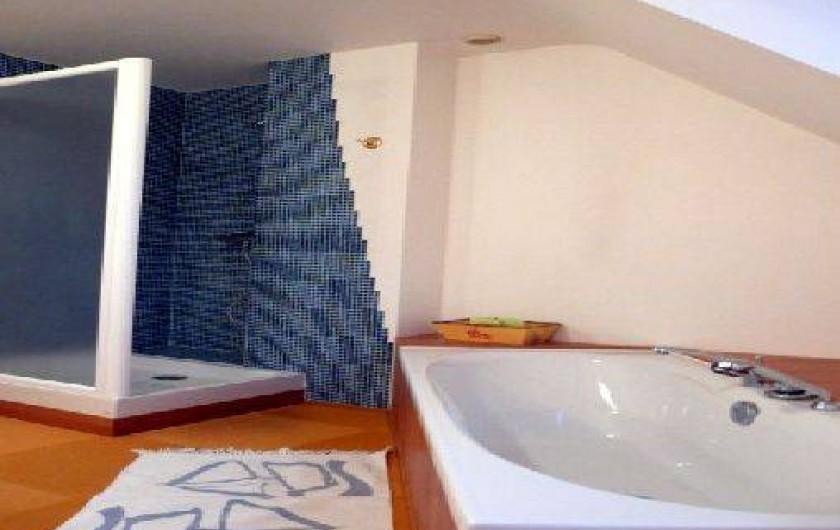 Location de vacances - Villa à Landéda - La salle de bain (2 salles d'eau en plus)