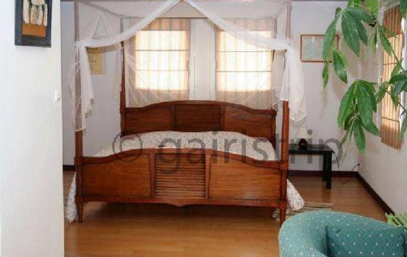 Location de vacances - Villa à Landéda - Chambre baldaquin pour les princesses