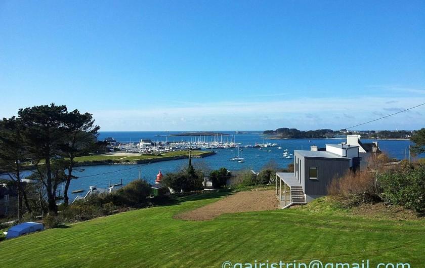 Location de vacances - Villa à Landéda - Magnifique vue mer!