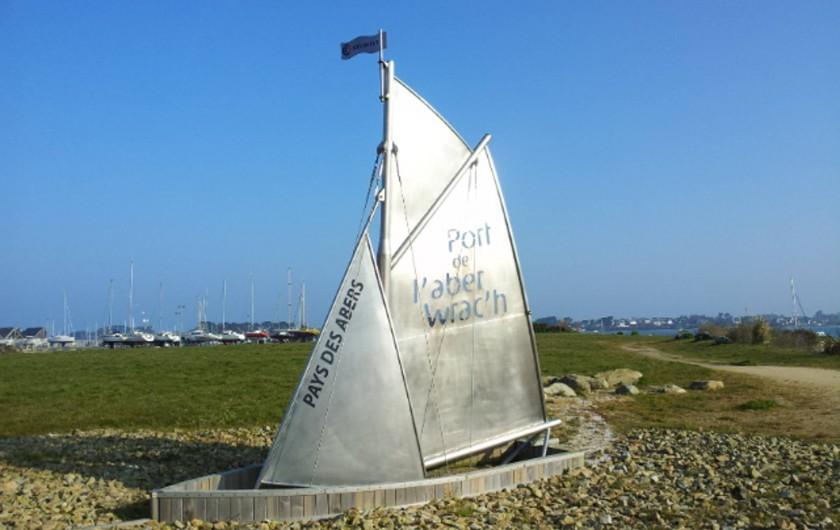 Location de vacances - Villa à Landéda - Le port de l'Aber Wrac'h - 5 min à pied de la maison