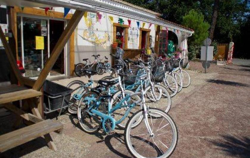 Location de vacances - Bungalow - Mobilhome à Grayan-et-l'Hôpital - Location de vélos