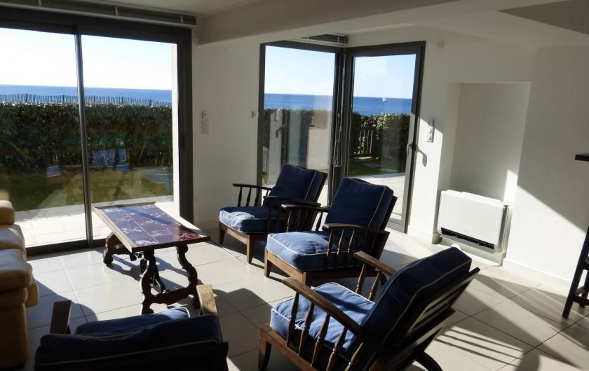 Location de vacances - Appartement à Soorts-Hossegor - appartement n°2: séjour