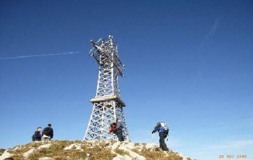 Location de vacances - Gîte à Saint-Pierre - Le sommet du Jura, Reculet, 1717m