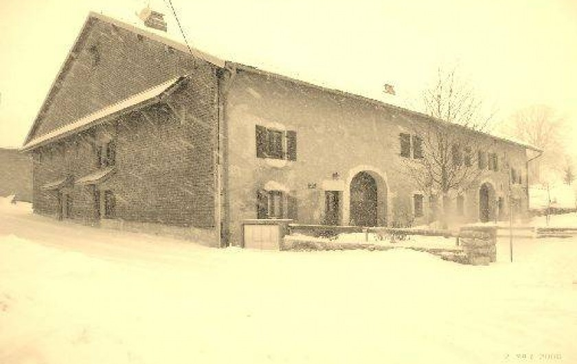 Location de vacances - Gîte à Saint-Pierre - C'est l' hiver