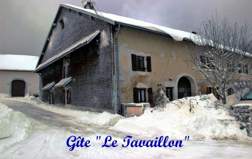 Location de vacances - Gîte à Saint-Pierre - En hiver