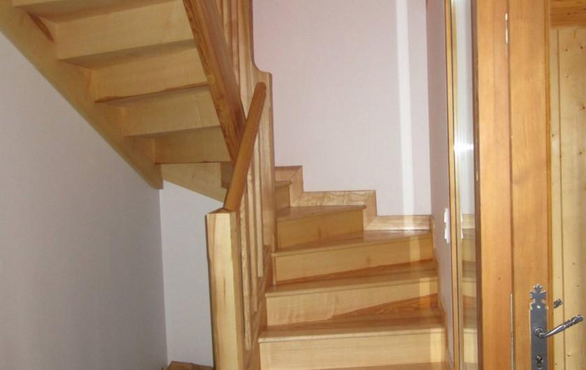 Location de vacances - Gîte à Arrens-Marsous - L'escalier