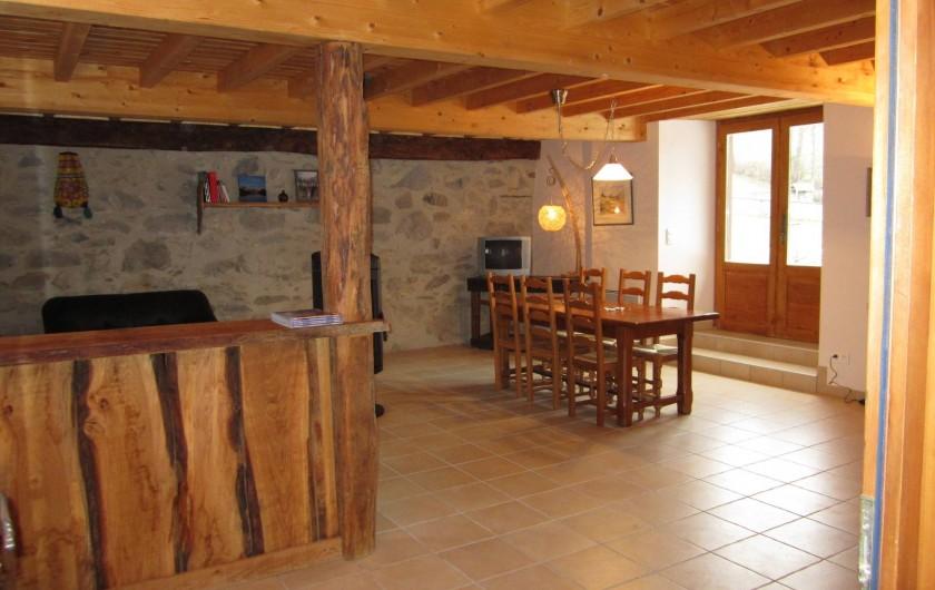 Location de vacances - Gîte à Arrens-Marsous - Le coin repas