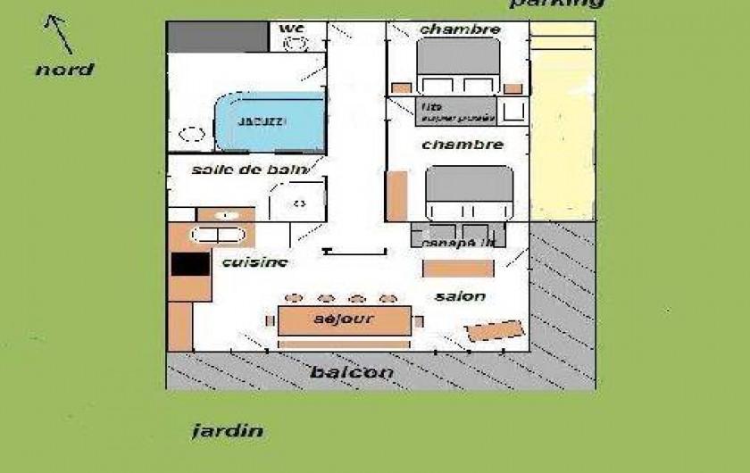 Location de vacances - Appartement à Arêches