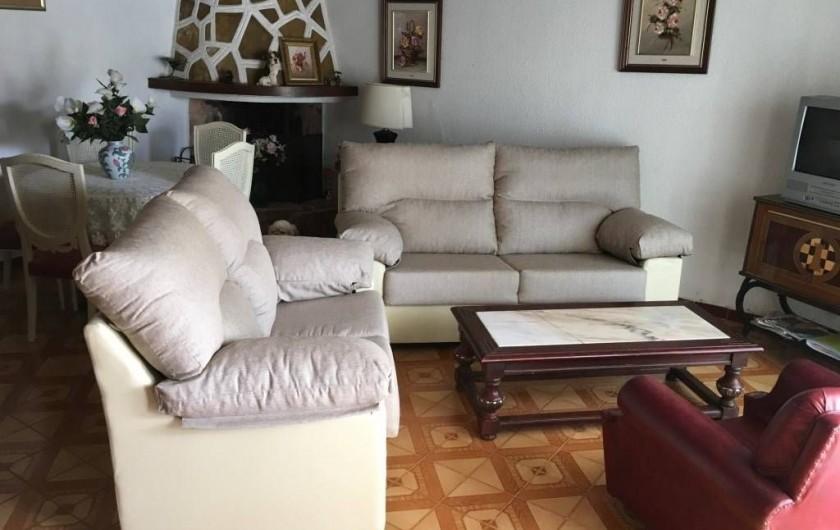 Location de vacances - Villa à Cambrils - salon appt 1