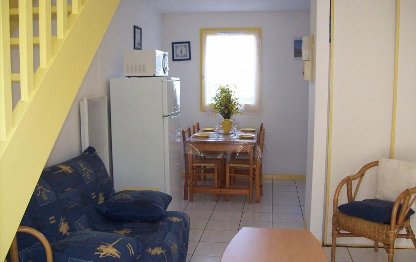 Location de vacances - Maison - Villa à Lacanau Océan - Séjour